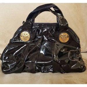 Black Gucci hysteria bag